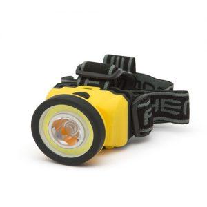 Čelovka s technologiou COB LED s vysokou svietivosťou až 120 lumenov.