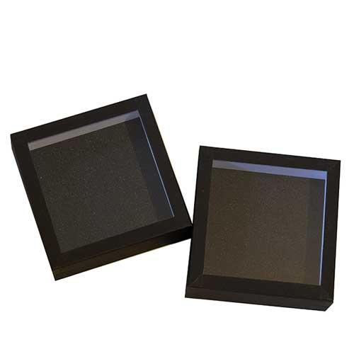 Entomologická škatuľa 15x15 dno s čiernou oenou