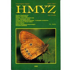 Entomologický magazín HMYZ Ročník 1 číslo 1