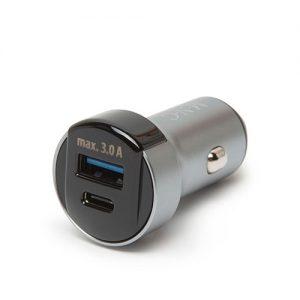 Adaptér do auta s rýchlonabíjačkou USB-C PD