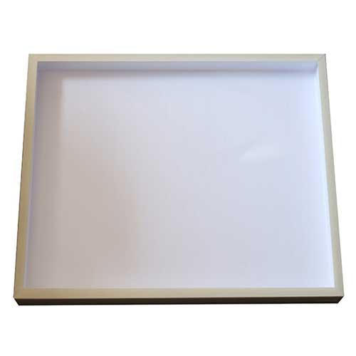 Entomologická škatuľa 50x40x5 dno s polystyrénom, vrch sklo.