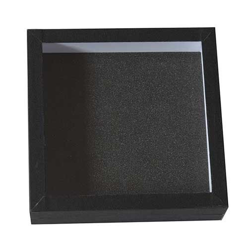 Entomologická škatuľa 18x18 dno s čiernou penou